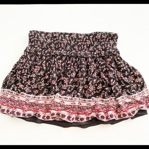 American Rag | Floral Summer Mini Skirt